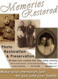 Photo Restoration Flier